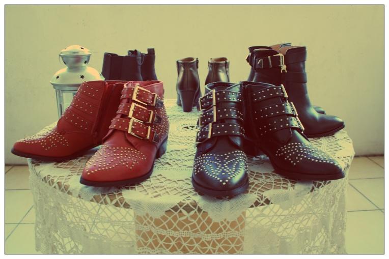 Boots achetées sur ebay