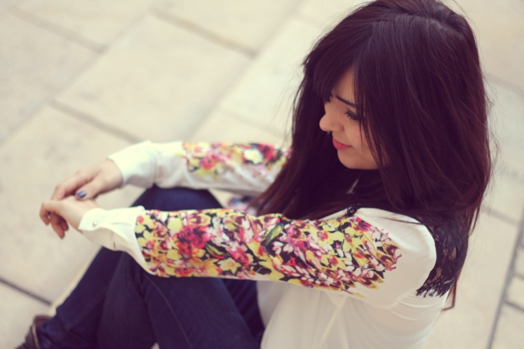Veste - JollyChic Chemise - JollyChic Jean - Zara Ceinture - Asos Chaussures - San Marina Bague - H&M Sac - Vj style